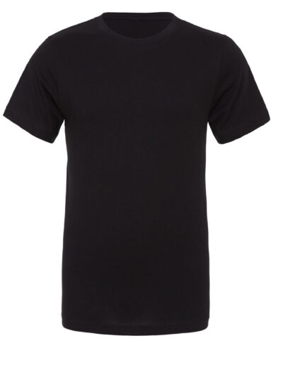 Bella Canvas Unisex Polycotton Short Sleeve Tee Black