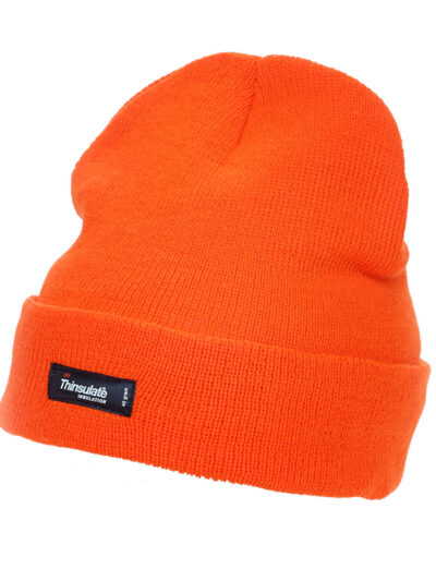 Yoko Adult Thinsulate® Hat Hi Vis Orange