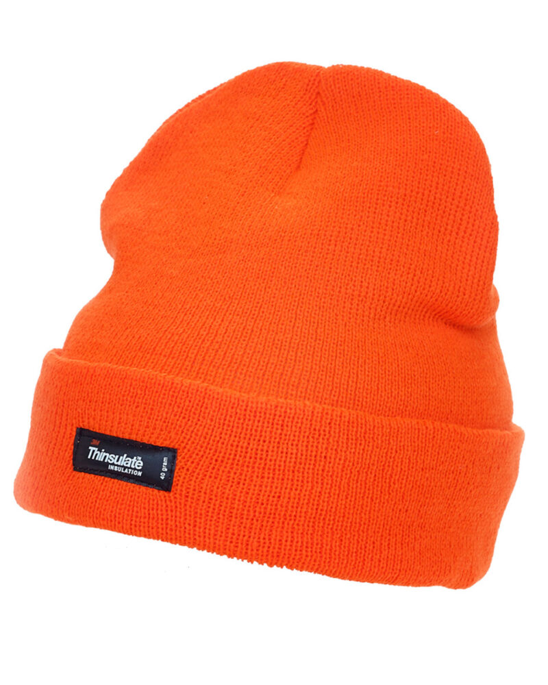 Yoko Adult Thinsulate® Hat Hi Vis Orange