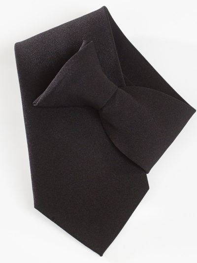 Yoko Clip-On Tie Black