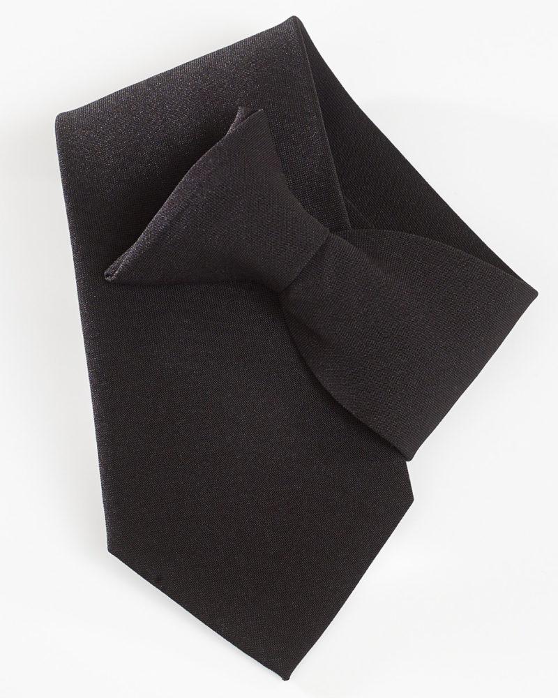 Yoko Clip-On Tie Black