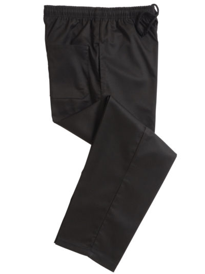 Black Elasticated Trouser