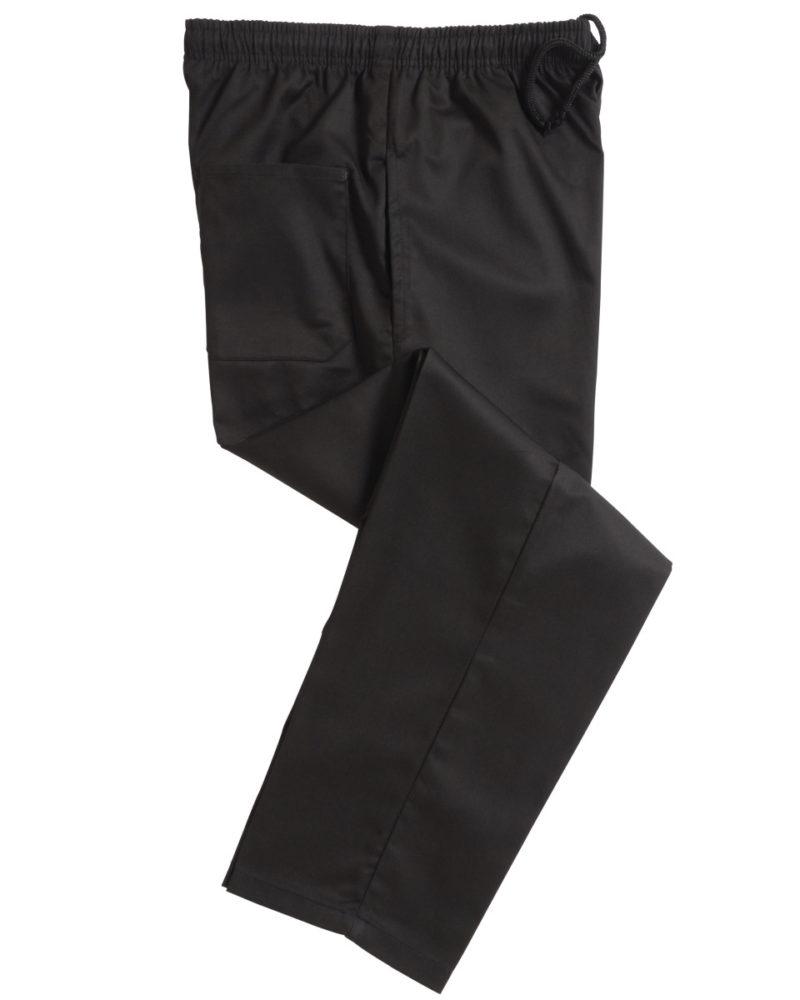 Black Elasticated Trouser
