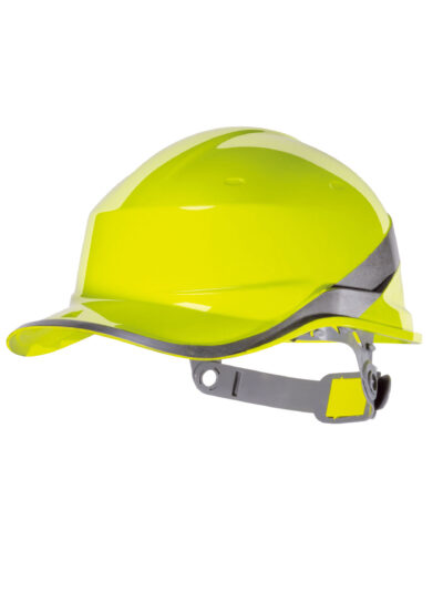 Delta Plus Hi-Vis Baseball Safety Helmet (DIAMOND)