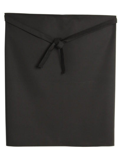 Dennys Low Cost Waist Apron With Pocket Black