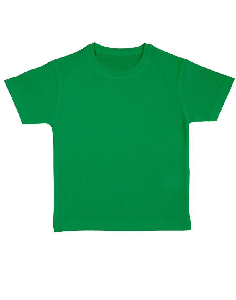 Nakedshirt Kid's 'Frog' Organic Favourite T-Shirt Kelly Green