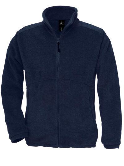B&C Icewalker+ Outdoor Full Zip Fleece Navy Blue