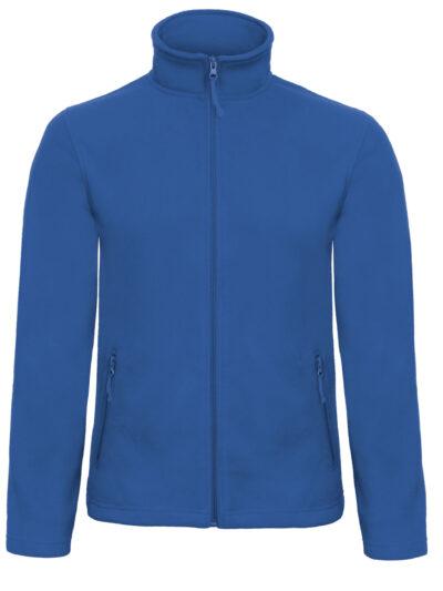 B&C ID.501 Men's Micro Fleece Full Zip Royal Blue