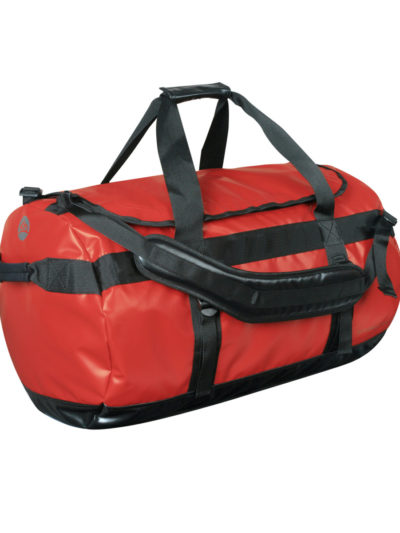 Stormtech Bags Atlantis Waterproof Gear Bag (Medium) Red and Black