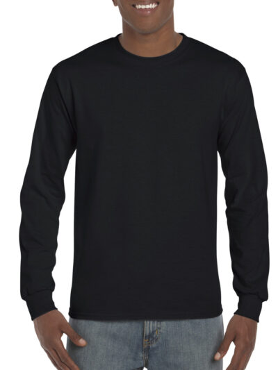 Gildan Hammer Adult Long Sleeve T-Shirt Black