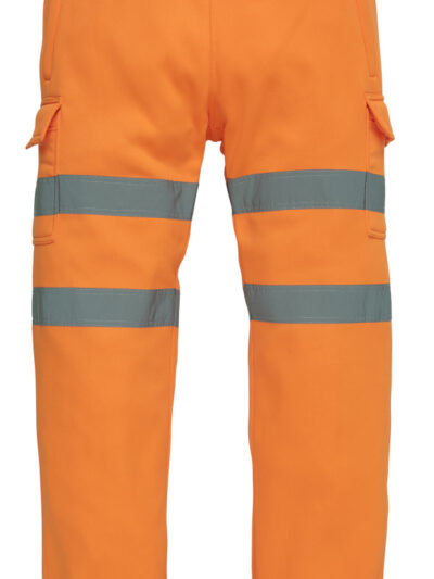 Yoko Hi-Vis Jogging Pants Hi Vis Orange