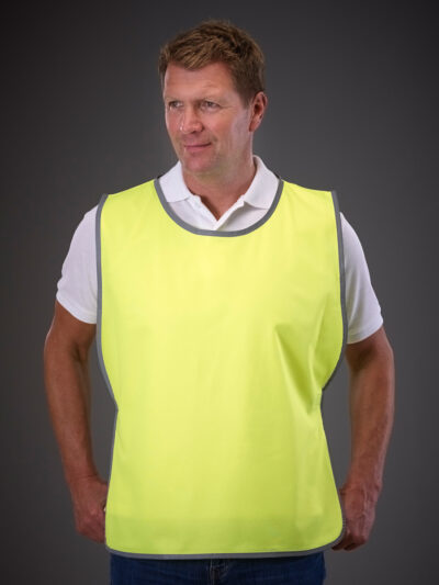 Yoko Reflective Border Tabard Hi-Vis Yellow