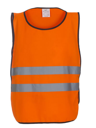 Yoko Hi-Vis 2 Band Tabard Hi Vis Orange