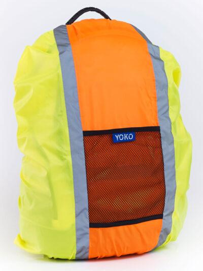 Yoko Hi-Vis Rucksack Cover Hi Vis Yellow and Orange