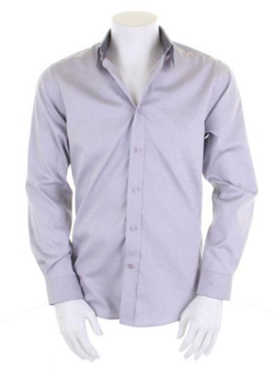 Men's Long Sleeve Contrast Premium Oxford Shirt
