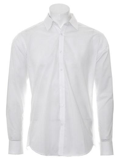Kustom Kit Slim Fit L/S Business Shirt