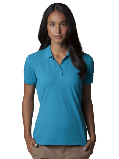 Ladies' DryBlend Pique Polo Shirt