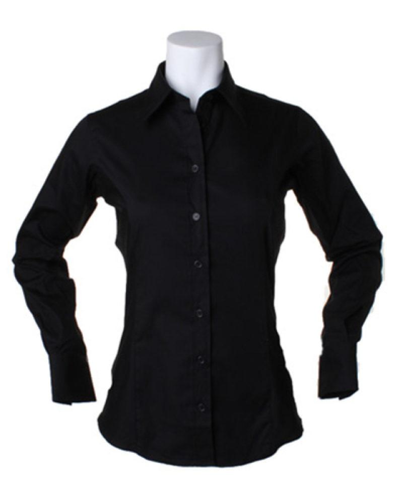 Ladies' Corporate Long Sleeve Oxford Shirt