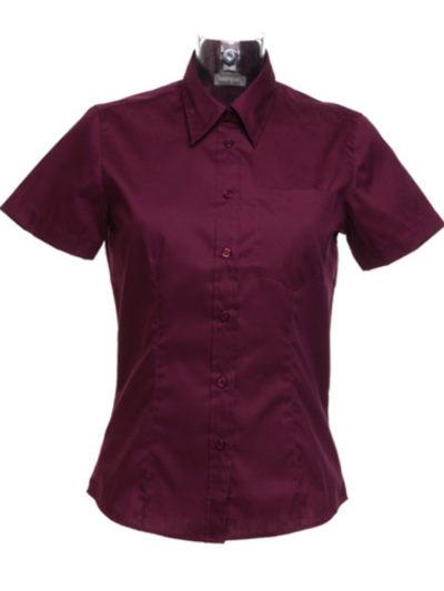 Ladies' Short Sleeve Corporate Pocket Oxford Shirt