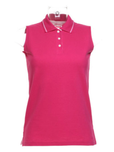 Ladies Proactive Sleeveless Polo