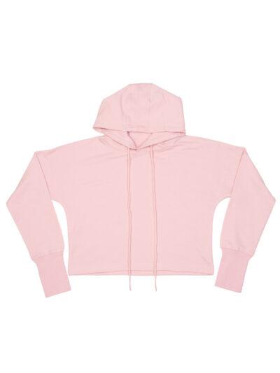 Mantis Cropped Hoodie Soft Pink