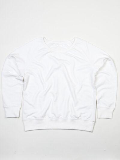 Mantis Women's Favourite Sweatshirt White