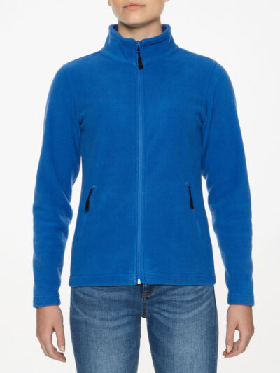 Gildan Hammer Ladies' Micro-Fleece Jacket Royal