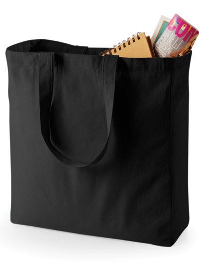 Quadra Canvas Classic Shopper Black