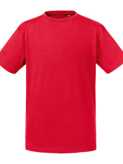 Russell Pure Organic Kid's Tee Classic Red