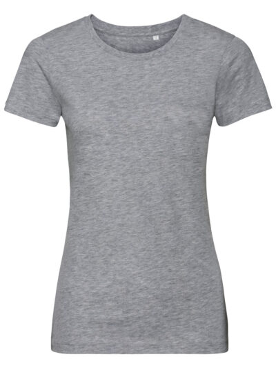 Russell Pure Organic Ladies' Authentic Tee Pure Organic Light Oxford
