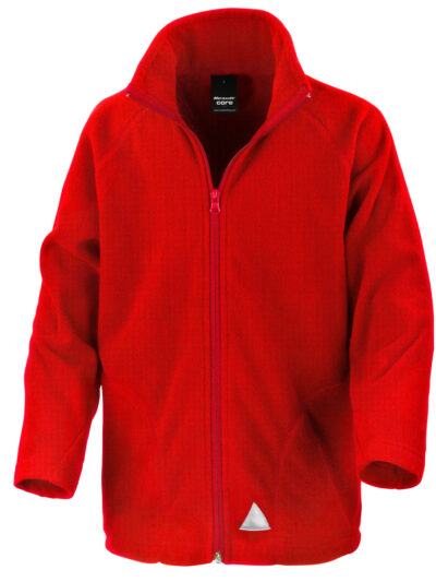 Result Core Junior Microfleece Jacket Red