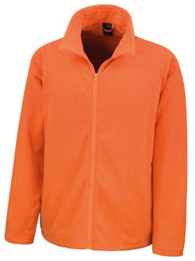Result Core Microfleece Jacket Orange