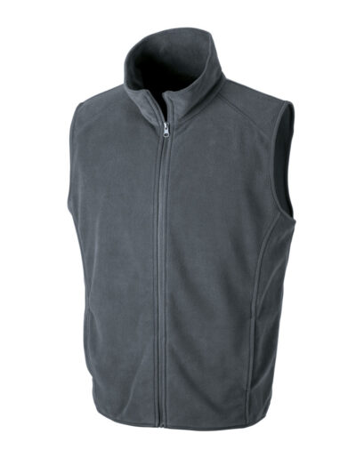 Result Core Microfleece Gilet Charcoal