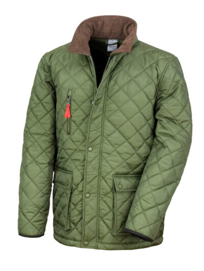 Result Urban Outdoor Wear Cheltenham Gold Jacket Olive