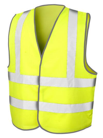 Result Safeguard Safety Hi-Vis Vest Hi-Vis Yellow