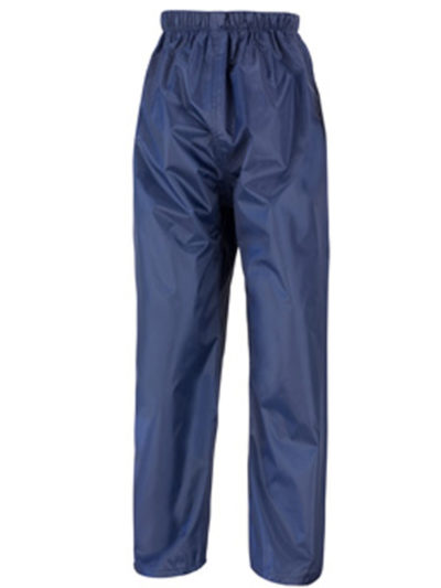 Result Core Junior Rain Trousers Navy Blue