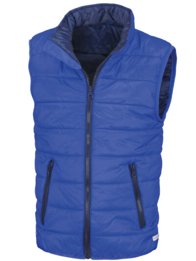 Result Core Child's Padded Bodywarmer Royal and Navy