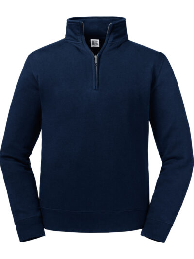 Russell Authentic 1/4 Zip Sweat French Navy