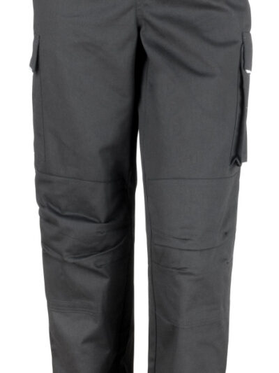 WORK-GUARD by Result Action Trousers (Reg) Black