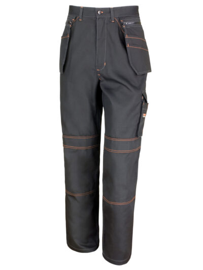 WORK-GUARD by Result Lite X-Over Holster Trousers Black