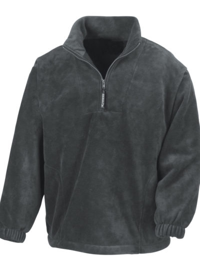 Unlined Active 1/4 Zip Fleece Top