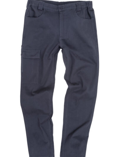 WORK-GUARD by Result Super Stretch Slim Chino Navy Blue