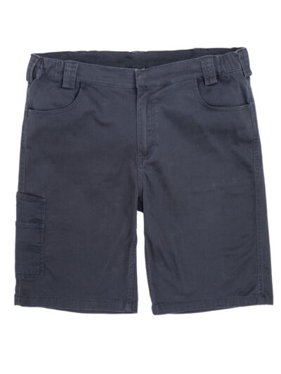 WORK-GUARD by Result Super Stretch Slim Chino Shorts Navy Blue