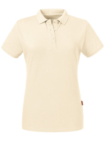 Russell Pure Organic Ladies' Polo Natural