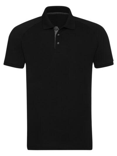 Russell Men's HD Raglan Polo Black