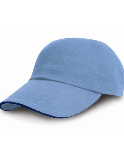 Heavy Cotton Pro-Style Cap With Sandwich Peak