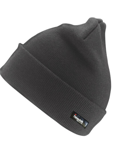Result Winter Essentials Woolly Ski Hat with 3M™ Thinsulate™ Insulation Charcoal