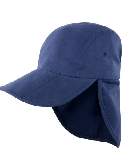 Result Headwear Fold Up Legionnaire Hat Navy Blue