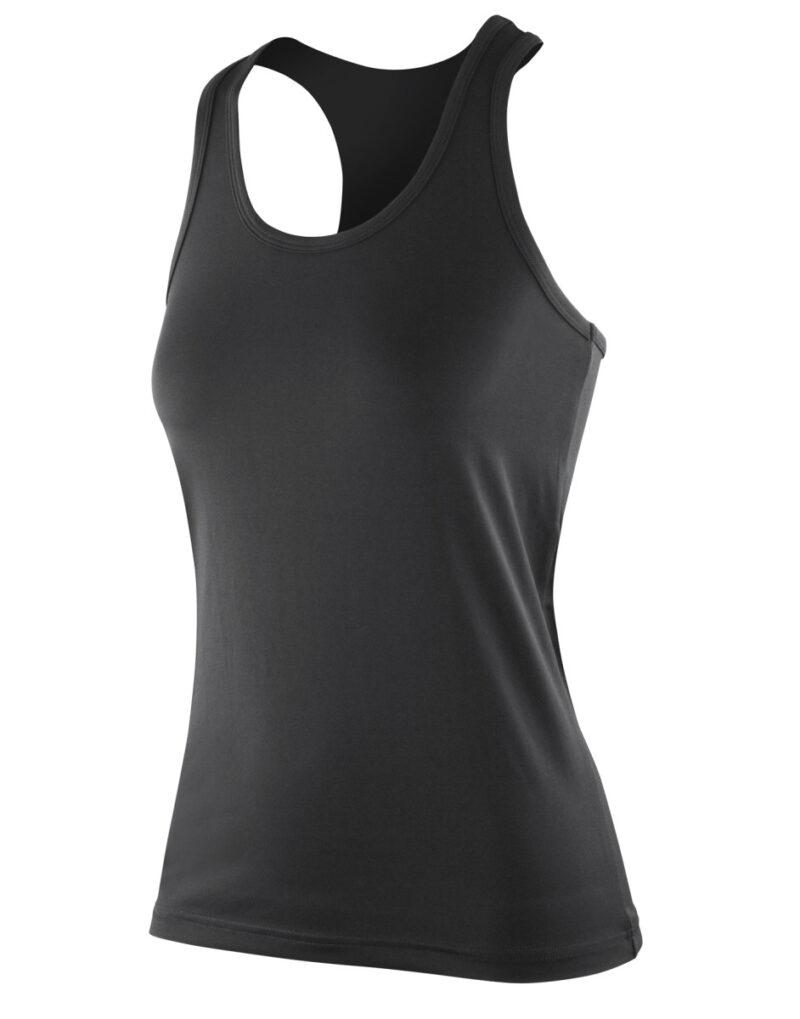 Spiro Impact Impact Women's Softex Fitness Top Black