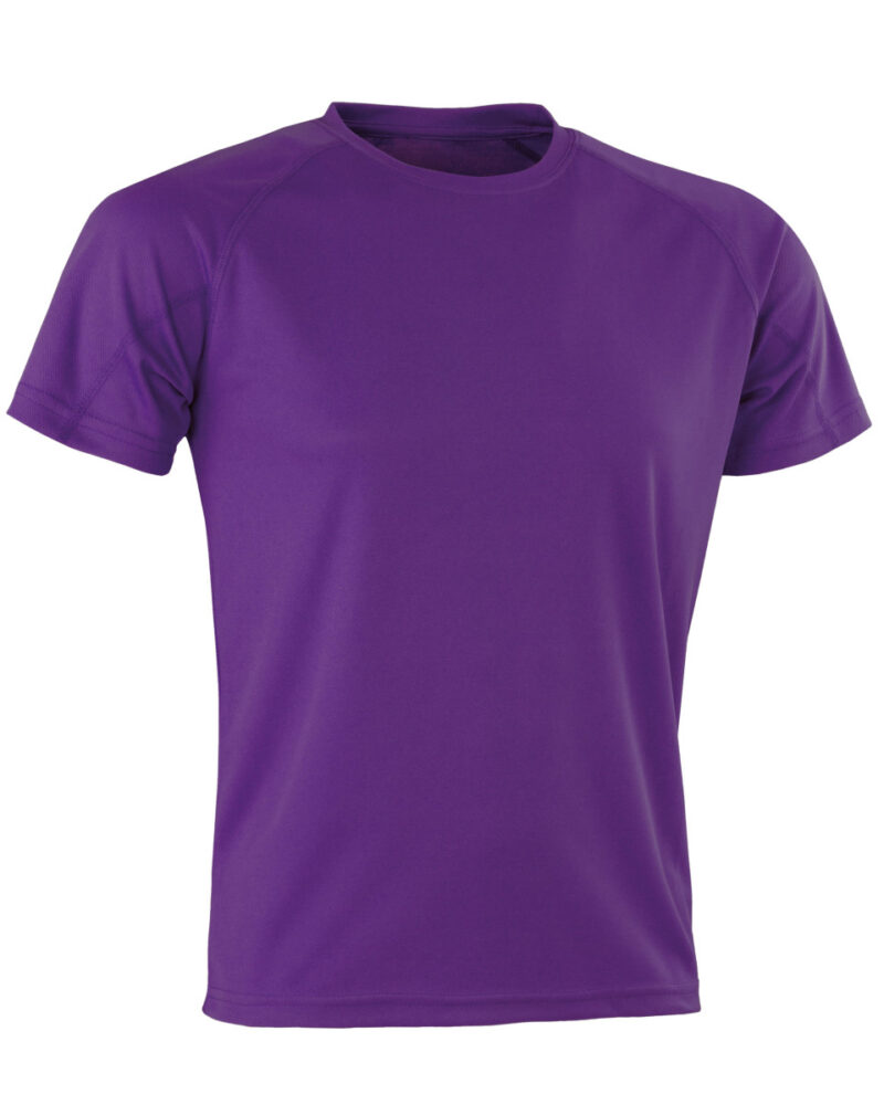 Spiro Impact Aircool Tee Purple